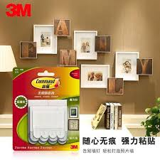3m command damage free picture and frame hanging strips command strips removable wall sticker for home decor vinyl wall decor vinyl wall decorations from
