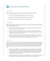 Sample Executive Summary Proposal Free Formal Business Proposal