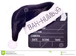 Bah Humbug Hat With Lights Hate Christmas Movies Cutout Stock Photo Image Of White