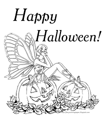 Small Picture Barbie fairy Halloween colouring page Halloween pumpkin carving