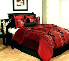 Black White Gold Comforter Red Bedroom Sets Red Queen Bedding Sets ...