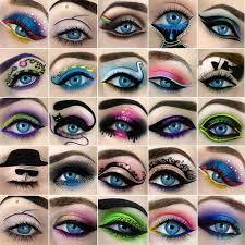 funky eyeshadow