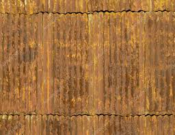 corroded and rusty corrugated metal roof panels photo by balefire9