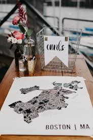 Alternative Map Wedding Guest Book Ideas For Jet Setting Couples