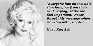 Mary Kay Quotes Unique Transformational Leaders Mary Kay Ash