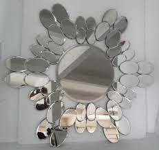 broken mirror wall decor uk