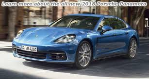 porsche new models 2018. modren models four panamera executive models to choose from learn more about the all new  2018 porsche panamera_o for models