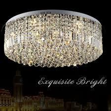 Us 2178 56 Offmoderne K9 Kristall Led Deckenleuchte Luxus Einfache Rund Led Chip Innen Licht Wohnzimmer Restaurant Schlafzimmer Lampe Leuchte In