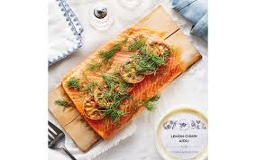 Lemon and fresh parsley are frequently used flavors in turkish food. Passover Cedar Planked Salmon Grocery Baldor Specialty Foods