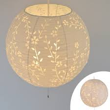 pendant light japanese paper komorebi hangs down a cherry tree 3 light lighting ceiling japanese style lighting japanese style room japanese modern