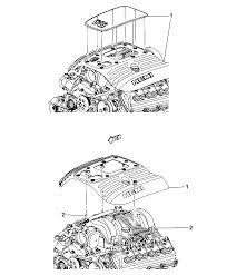 2011 jeep grand cherokee engine covers related parts diagram i2252690