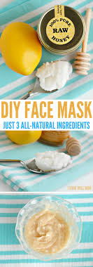 with just 3 simple all natural ings this diy face mask will take you
