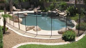 child resistant safety fence