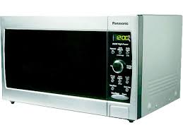 panasonic compact size 0 8 cu ft countertop microwave oven stainless