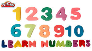 play doh numbers to number song learn numbers  play doh numbers 1 to 10 number song learn numbers 1 10 kids rhyme