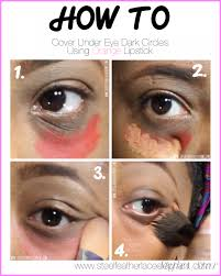 makeup best way to get rid of dark circles under your eyes by steel
