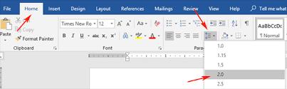 How To Make It Mla Format On Word Mla Format Microsoft Word 2019 Mla Format