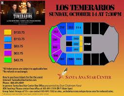 Santa Ana Seating Chart Ovo 1 Santa Ana Star Center Tickets Santa Ana Star Center In