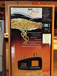 French Vending Machine Unique French Fry Vending Machine Wikiwand