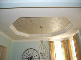 Decorative Trays For Bedroom Tray Ceiling Design With Wallpaper Home Design Examples 60