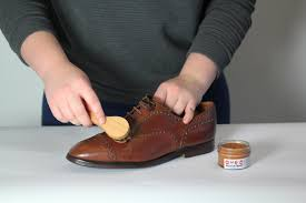 5 use polish and rub them in with a shoe brush