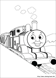 stylist the train coloring pages free cartoons for with regard to book 4 thomas tank engine the train coloring pages