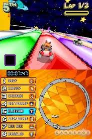 what are you talking about this is totally diffe than rainbow road