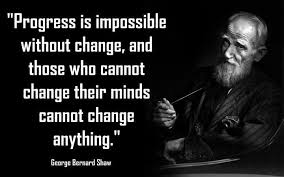 Quote On Change New Quote Of George Bernard Shaw QuoteSaga