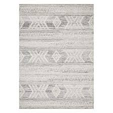 samers wool rug silver
