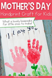 Cute mothers day ideas mothers day crafts for kids fathers day crafts grandparents day crafts easy crafts for kids crafts to do arts and crafts easy and fast mother's day craft for toddlers or preschoolers! Precious Handprint Mother S Day Craft For Kids To Make