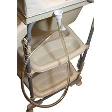 baby go sleek bathinette bathtub changer combo in beige free