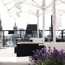 Hotel Lamée The Roof Rooftop Bar Vienna Creme Guides