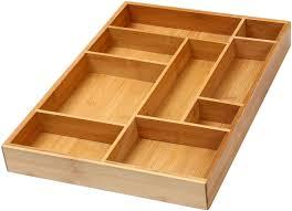 desk drawer organizer. Simple Organizer YBM Home U0026 Kitchen Bamboo Utility Drawer Organizer For Kitchen Bathroom  Office And Cosmetics 175 Intended Desk