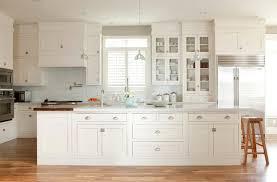 white shaker kitchen cabinet. Long Kitchen Island White Shaker Cabinet