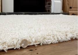 image of large high pile rug
