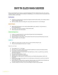Easy To Use Resume Templates Or How To Make A Good Resume Resume