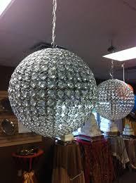 crystal ball chandelier pixball com