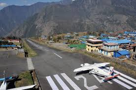 Lukla Approach Chart Is This The Worlds Toughest Airport Boldmethod