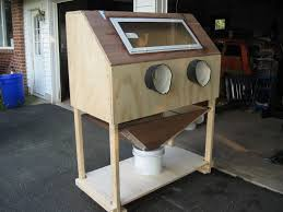 Sand Blaster Cabinet Homemade Sandblasting Cabinet The Fordificationcom Forums