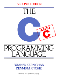 c programming language the cover of the book the c programming language second edition by brian kernighan and dennis ritchie covering ansi c