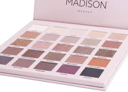 madison makeup amy s makeup box dare to blend eyeshadow palette