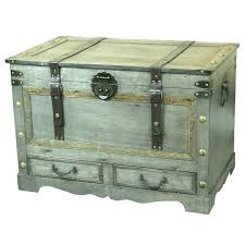 decorative storage trunks large decorative storage trunks rustic gray large wooden storage trunk coffee table with