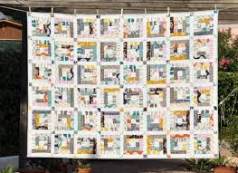 FREE Quilting Patterns for National Quilting Day & Abstract Dreams - Free Quilt Pattern available on Craftsy.com Adamdwight.com