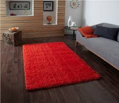 image of ikea red hampen rug