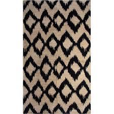 sweetlooking navy ikat rug chesapeake printed area reviews wayfair