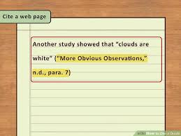 How To Cite A Quote From A Website Cool 48 Easy Ways To Cite A Quote With Pictures WikiHow