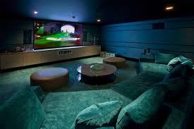 luxurious lighting ideas appealing modern house. Luxurious Home Movie Theater Rooms : Cool And Cozy Design Interior Room With Lighting Ideas Appealing Modern House