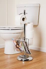 Chrome Toilet Paper Holder Magazine Rack Magnificent HEAVY DUTY TOILET ROLL HOLDER WITH MAGAZINE RACKCHROMEWe Deliver