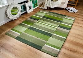 jazz blocks moss rug