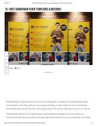 free handyman flyer template handyman flyer designs templates 2017